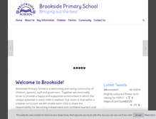 Tablet Preview of brooksideprimary.co.uk